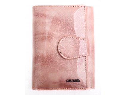 Dámská kožená peněženka Carmelo 2108 P Pink