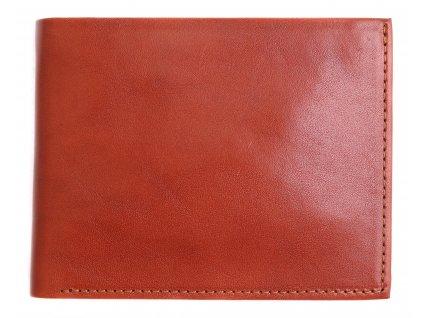 Pánská kožená peněženka Hajn 587451.5 koňakově hnědá
