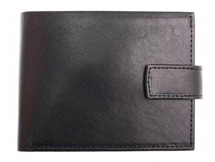 Pánská kožená peněženka Hajn 587459.3 černá