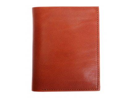 Pánská kožená peněženka Hajn 584951.5 koňakově hnědá