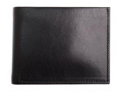 Pánská kožená peněženka Hajn 587411.3 černá