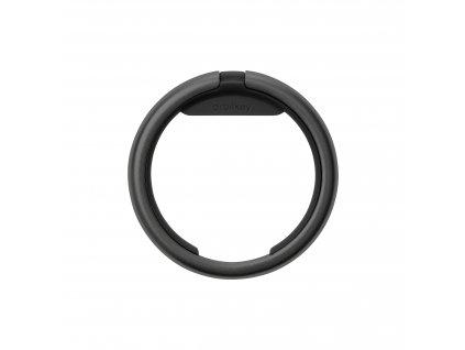 Chytrý kroužek na klíče Orbitkey Ring All Black - černý