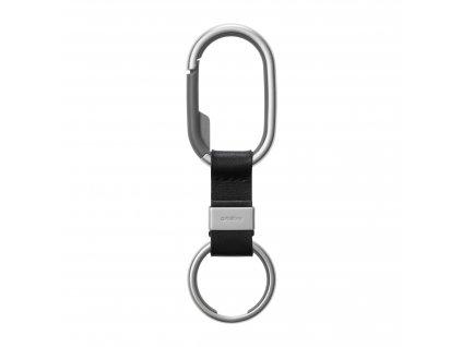 Orbitkey Clip na klíče s černým pásečkem
