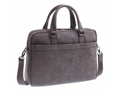 Pánská business taška Hexagona 784627 šedá