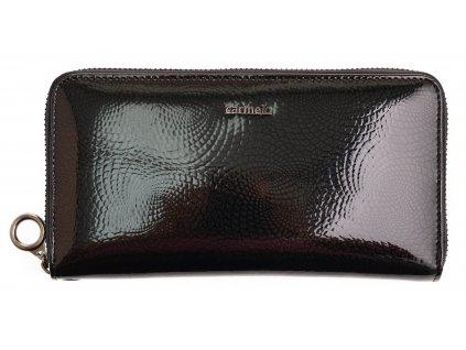 Velká dámská kožená peněženka Carmelo 2102 N černá