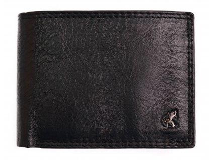 Pánská kožená peněženka Cosset 4503 Komodo černá
