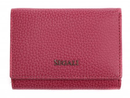 Dámská kožená peněženka Segali SG 7106 B fuchsiová