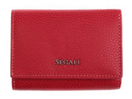 Dámská kožená peněženka Segali SG 7106 B červená