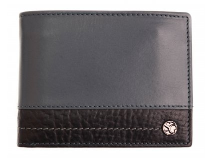 Pánská kožená peněženka Segali 951.320.005L světle modrá + modrý vnitřek