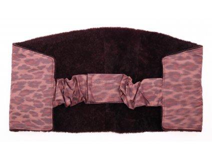 Ledvinový pás kožešinový z ovčiny velikost  80 - 100 cm LP151