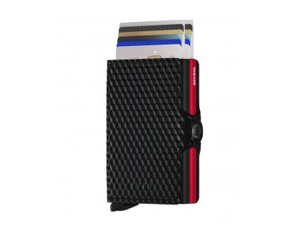 Secrid Twinwallet Cubic Black Red Front Cards
