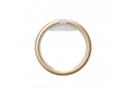 Chytrý kroužek na klíče Orbitkey Ring Yellow Gold zlatý