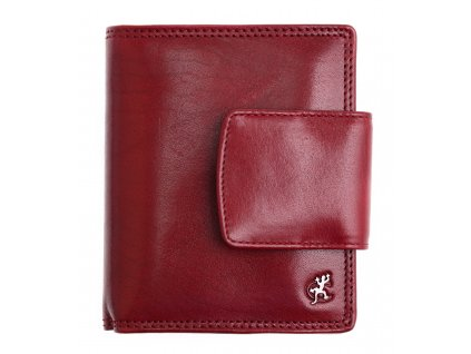 Dámská kožená peněženka Cosset 4404 Komodo vínová