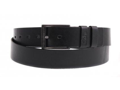 Pánský kožený opasek Black Hand 100-98 černý