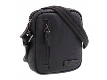 Pánská  crossbody taška Hexagona 586269 Woterproof černá voděodolná