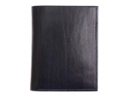 Pánská kožená peněženka Hajn 584951.5 tmavě modráv