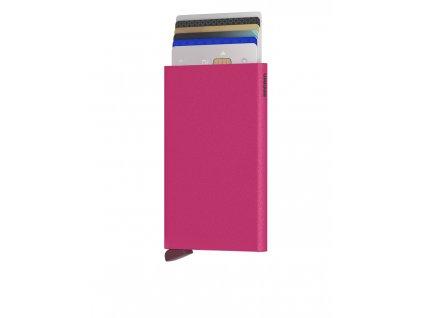 Secrid Cardprotector Powder Fuchsia Front Cards
