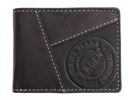 Pánská kožená peněženka Lagen 511451 černá