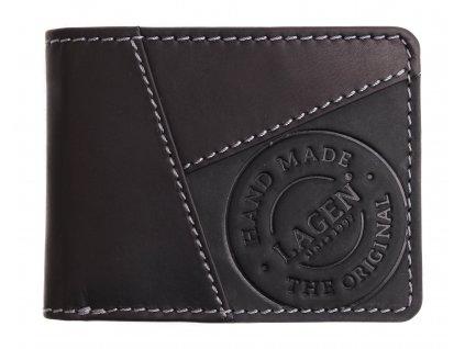 Pánská kožená peněženka Lagen 51148 černá
