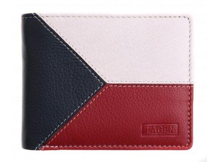 Pánská kožená peněženka Lagen 5114 Multicolor