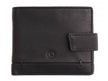 Pánská kožená peněženka Lagen BLC 4139 černá