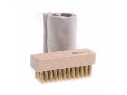 Pedag čistící sada hadřík a kartáček ECO-FRIENDLY Cleansing-Kit