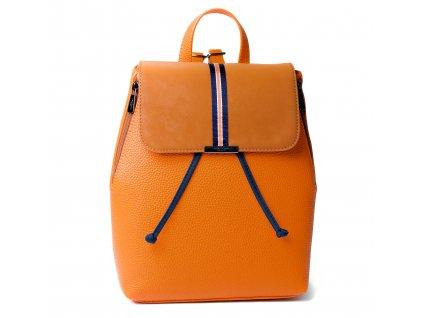 Dámský batoh Hexagona Citadine 596829 mandarinková - syntetická kůže - oranžový