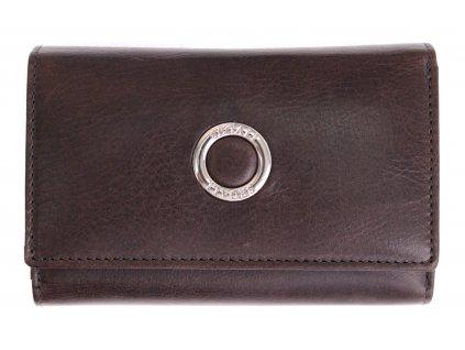Dámská kožená peněženka Segali 720116704 šedá