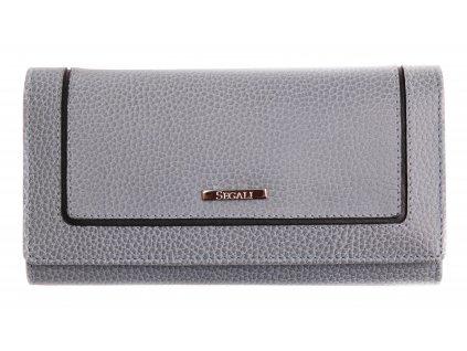 Dámská kožená peněženka Segali 7075  modrá