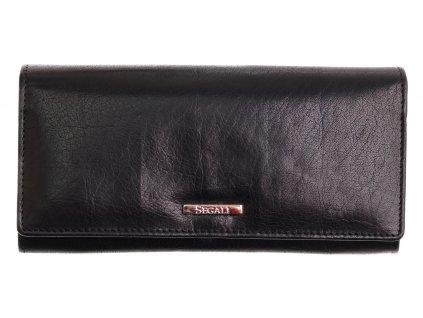 Dámská kožená peněženka Segali 7120 černá