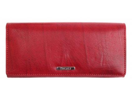 Dámská kožená peněženka Segali 7120 vínově červená