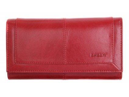 Dámská kožená peněženka Lagen 4228 BLC červená