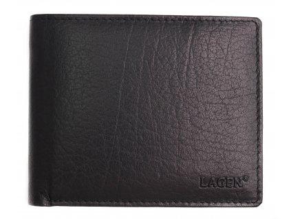 Pánská kožená peněženka Lagen V-76 černá
