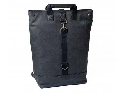 Černý batoh a taška 2v1 Hexagona Journey 936024spongr.cz kvalitni kozene kabelky 0080