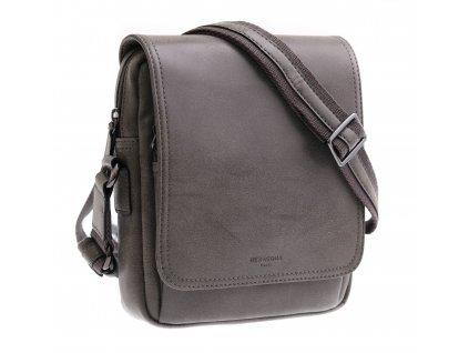 Pánská taška přes rameno ze syntetické kůže Hexagona 784631 šedá