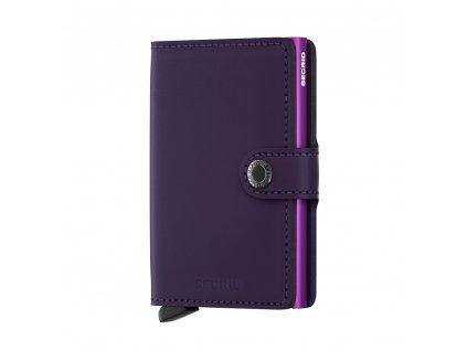 M matte purple Front