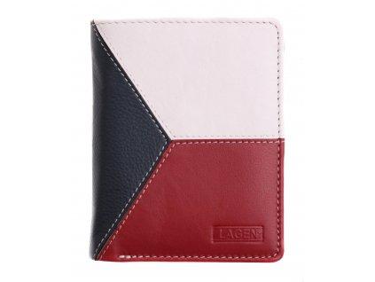 Pánská kožená peněženka Lagen 5113 vlajka