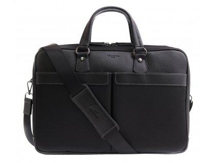 Pánská business taška na notebook Hexagona 294838 černá