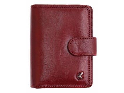 Dámská kožená peněženka Cosset 4494 Komodo Bordó