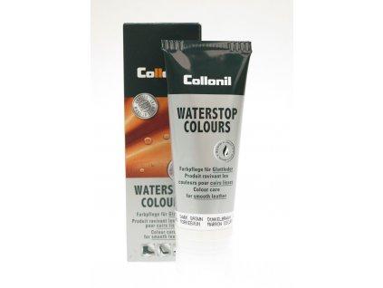 Collonil Waterstop 75 ml impregnační krém na boty - bezbarvý Multicolor