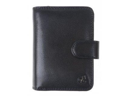 Dámská kožená peněženka Cosset 4494 Komodo černá