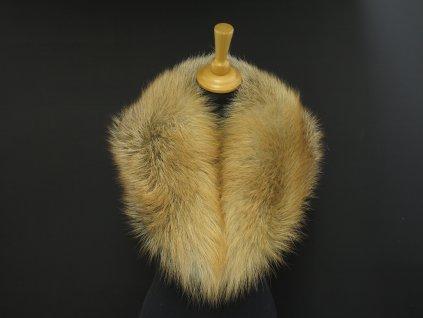 Kožešinový límec ze zlaté kanadské lišky L227