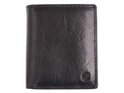 Pánská kožená peněženka Cosset 4402 Komodo černá