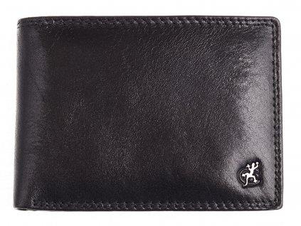 Pánská kožená peněženka Cosset 4460 Komodo černá