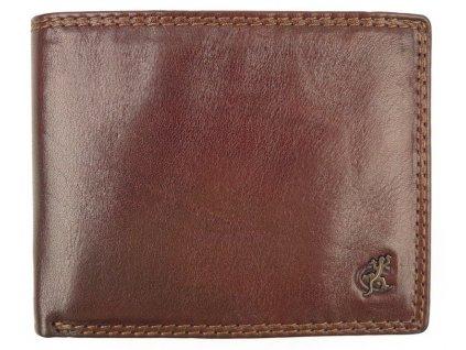 Pánská kožená peněženka Cosset 4488 Komodo hnědá