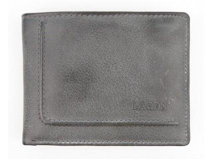 Pánská kožená peněženka Lagen 522 H šedá