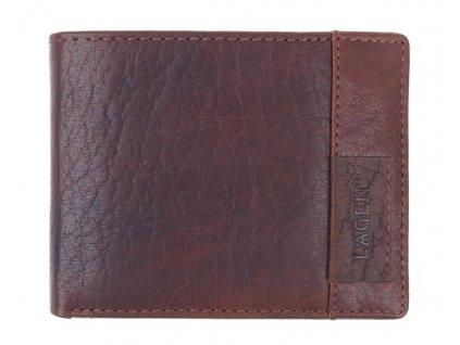 Pánská kožená peněženka Lagen LN 9113 koňakově hnědá