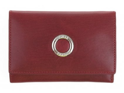Dámská kožená peněženka Segali 720116977 vínově červená