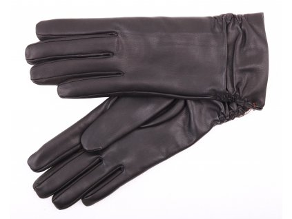 Dámské kožené rukavice 4251 černé