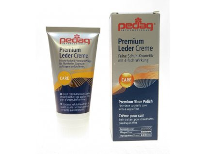 PEDAG Premium Leder Creme krém na hladkou kůži tmavě modrý